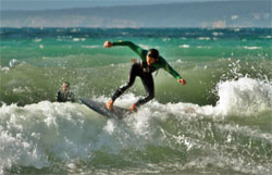 surfing lessons mallorca
