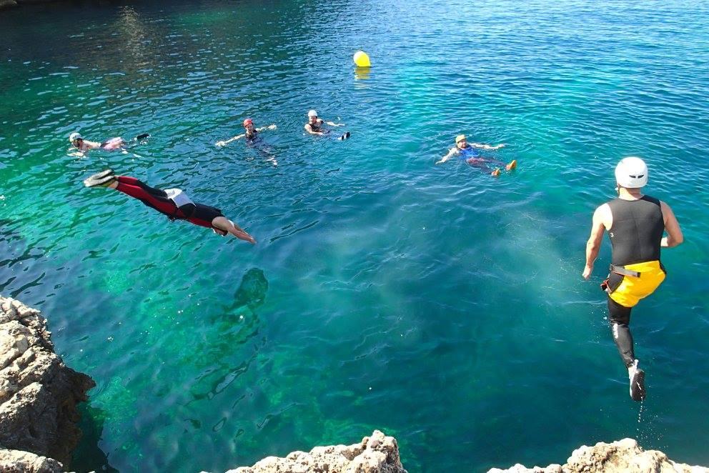 Coasteering in Mallorca - Cliff jumping and Coasteering in Mallorca